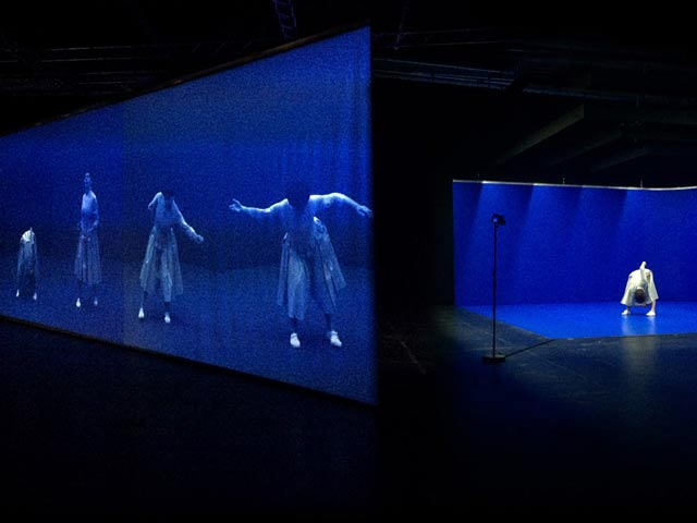 telematique, interactive video installation, Eadweard's Ear, Uferstudios Berlin, series photographs