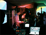 telematique vj-performance by telematique for the musicians Liebe ist cool